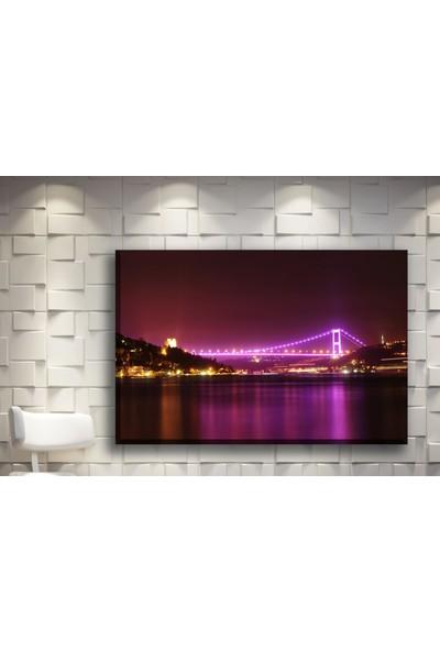 Pia Hediyelik Kanvas Tablo İstanbul Köprü