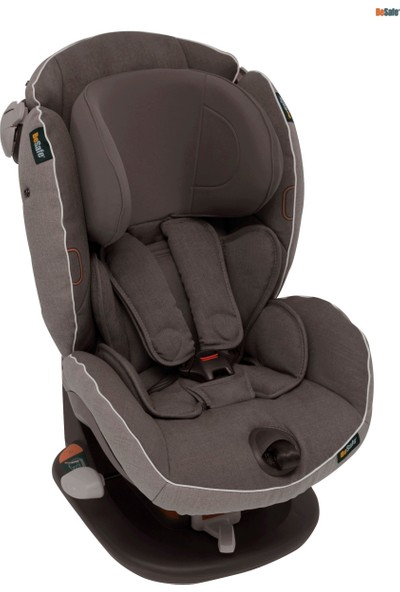 BeSafe iZi Comfort X3 9-18 kg Oto Koltuğu Metallic Melange