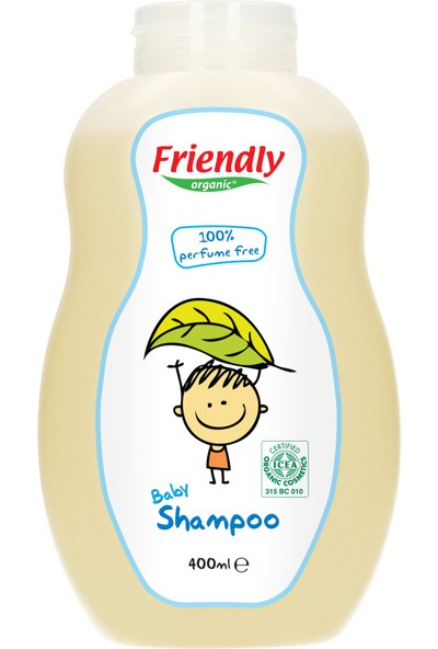 Friendly Organic Bebek Şampuanı Parfümsüz 400 ml