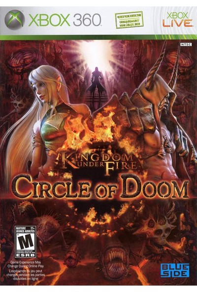 Kingdom Under Fire Circle Of Doom Xbox 360