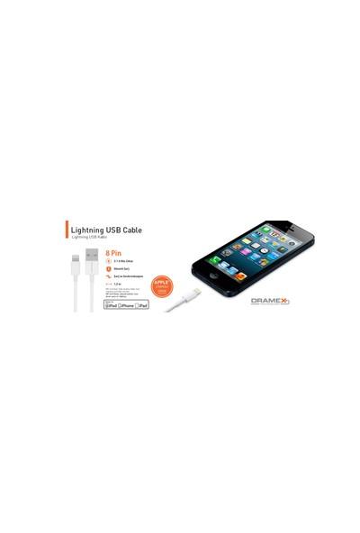 Dramex İphone 2.0 Amper 5/6/7 Lightning to USB Kablo Apple Lisanslı