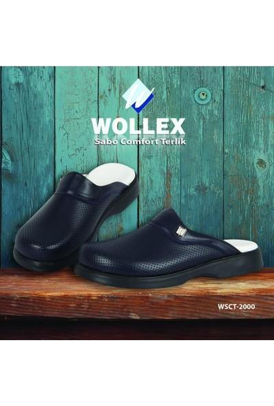 Wollex Sabo Comfort Klasik Erkek Terlik (Siyah) Wcst-2000