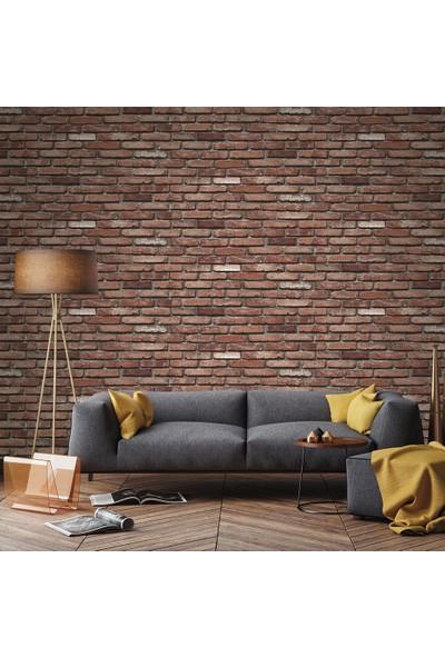 Bien Taş Tuğla Desen 9010 Duvar Kağıdı (5 M²)