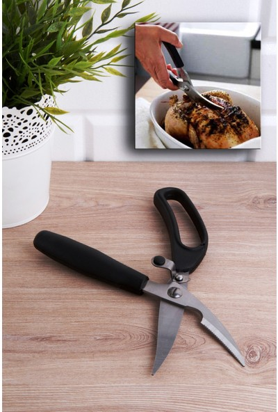 Menba Touch Et ve Tavuk Doğrama Makası - Paslanmaz Çelik Tavuk Makası
