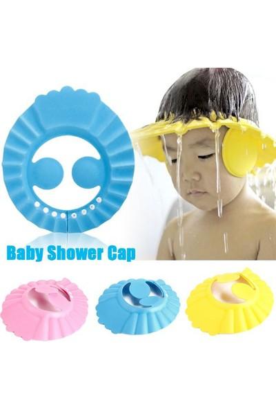 Tbg Bebek Banyo Şapkası Kulak Korumalı