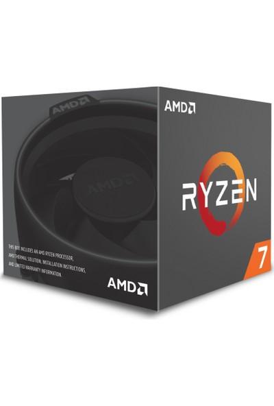 AMD Ryzen 7 1800X 3.6GHz/4.0GHz 16MB Cache Soket AM4 İşlemci
