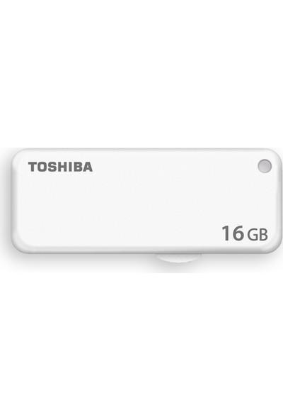 Toshiba Yamabiko 16GB USB 2.0 USB Bellek Beyaz