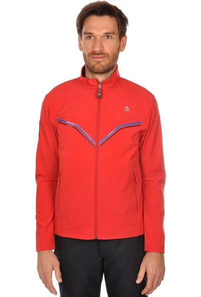 Völkl Yellow Softshell Erkek Kayak Montu Kırmızı