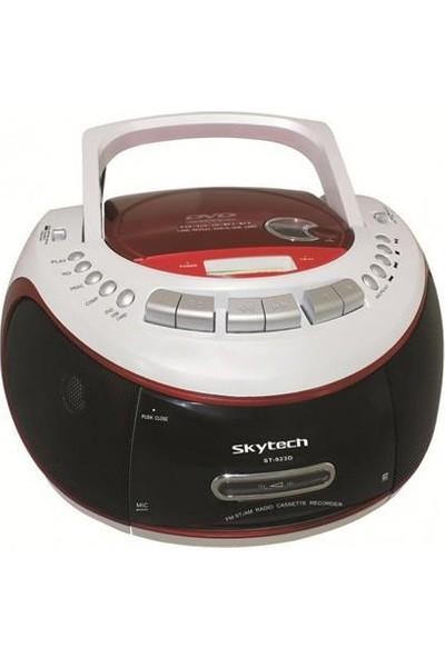 Skytech St-923D Usb Ve Kart Okuyuculu Radyo Cd Ve Kasetçalar