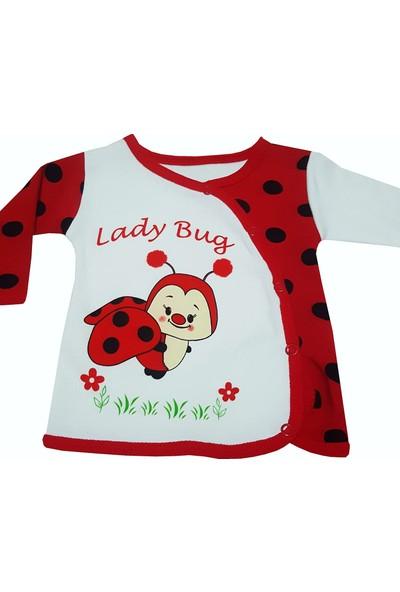 Pearly 5 Parça Bebek Hastane Çıkışı Yeni Doğan Zıbın Seti Pu5-8841-U