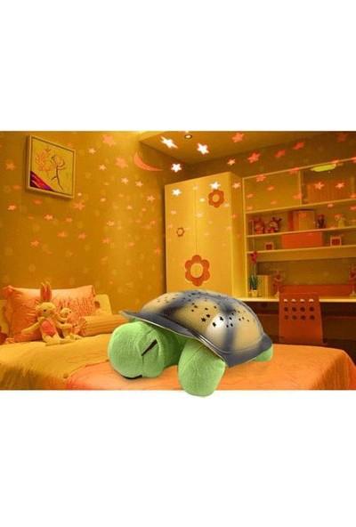 Night Sky Tavana Işık Yansıtan Müzikli Kaplumbağa