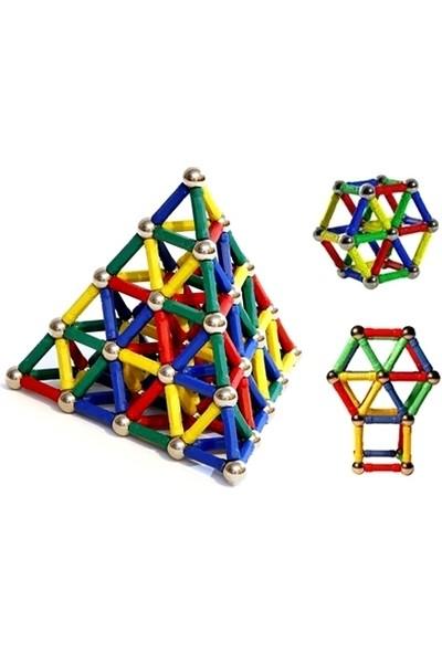 Smarties Manyetik Lego Seti-74 Parça