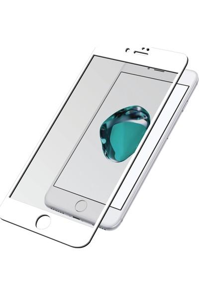 PanzerGlass™ PREMIUM 3D iPhone 7 Beyaz Temperli Cam Ekran Koruyucu
