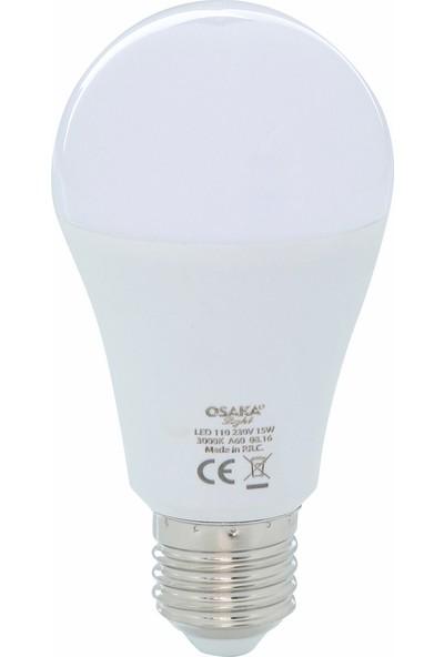 Osaka Light 15Watt-100watt A-60 Led Ampül Beyaz