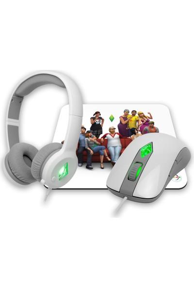 Steelseries Sims 4 Kablolu Oyuncu Mouse SSM62281