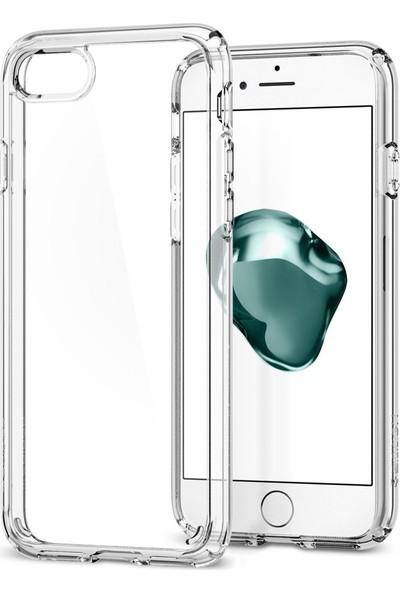 Spigen Apple iPhone 8 - iPhone 7 Kılıf Ultra Hybrid 2 Crystal Clear - 042CS20927