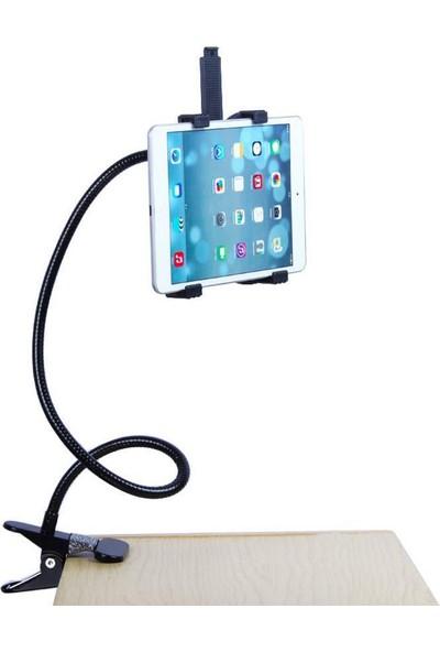 Alfais 4712 Klipsli 360 Dönebilen Universal Tablet Tutucu