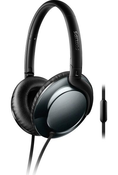 Philips SHL4805DC/00 Kulaküstü Mikrofonlu Kulaklık Siyah