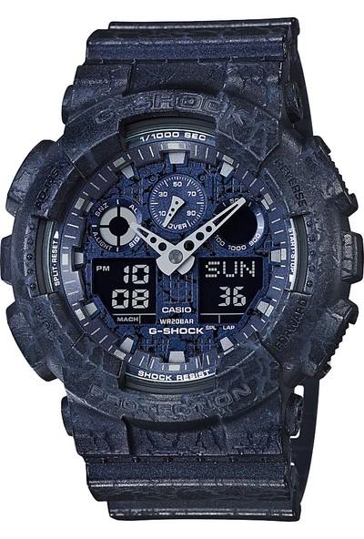 Casio GA-100CG-2ADR G-Shock Erkek Kol Saati