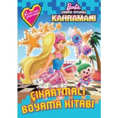 Barbie Video Oyunu Kahramani Cikartmali Boyama Fiyati