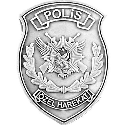 Anı Yüzük Polis özel Harekat Gümüş Kaplamalı Rozet Fiyatı