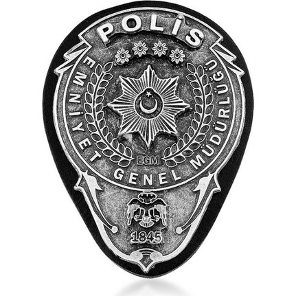 Anı Yüzük Emniyet Genel Müdürlüğü Polis Kemer Rozeti Fiyatı