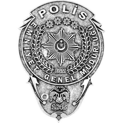 Anı Yüzük Gümüş Kaplamalı Polis Rozeti Fiyatı Taksit Seçenekleri