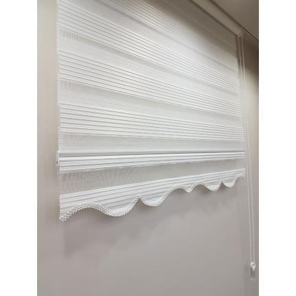 brillant pliseli stor zebra perde beyaz mz480 80 x 200 cm fiyatı