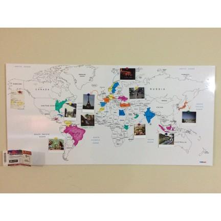 Mapofx Gez Boya Harita Boyanabilir Dünya Haritası Sert Fiyatı