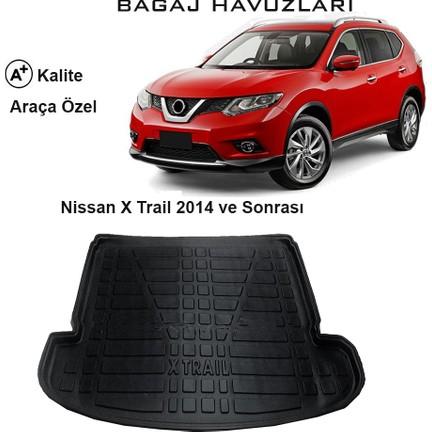 Nissan X Trail >> Gun San Nissan X Trail 2014 Ve Sonrasi 3d Bagaj Havuzu