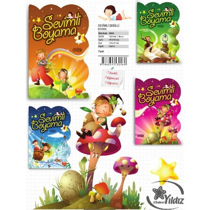 Karatay çocuk 24 Yaprak Boyama Kitabı 0569 Fiyatı