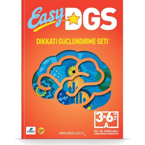 EASY Dikkati Güçlendirme Seti 3-6 yaş A Kitapçığı - Osman Abalı