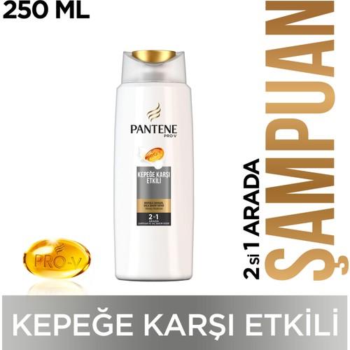 Pantene 2'si 1 Arada Şampuan Kepeğe Karşı Etkili 250 ml