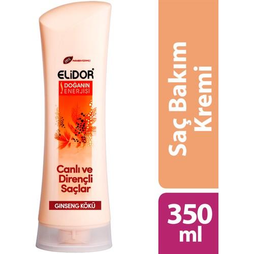 Elidor Saç Bakım Kremi Canlı Ve Dirençli Saçlar 350 ml