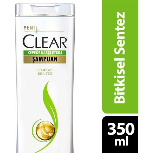 Clear Şampuan Bitkisel Sentez 350 ml