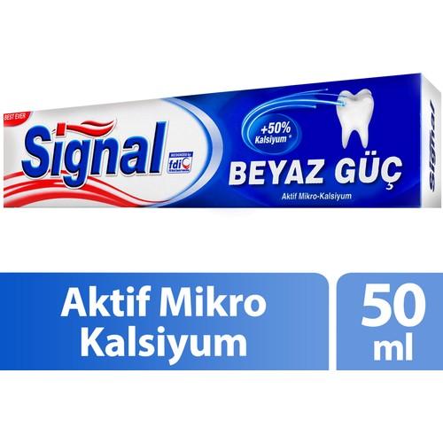 Signal Beyaz Güç Diş Macunu 50Ml.