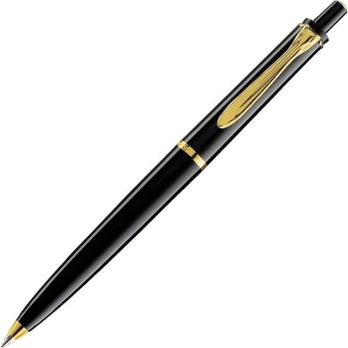 Pelikan 150 Serisi K150 Siyah 14 Ayar Altın Kaplama Metal Aksam Tükenmezkalem