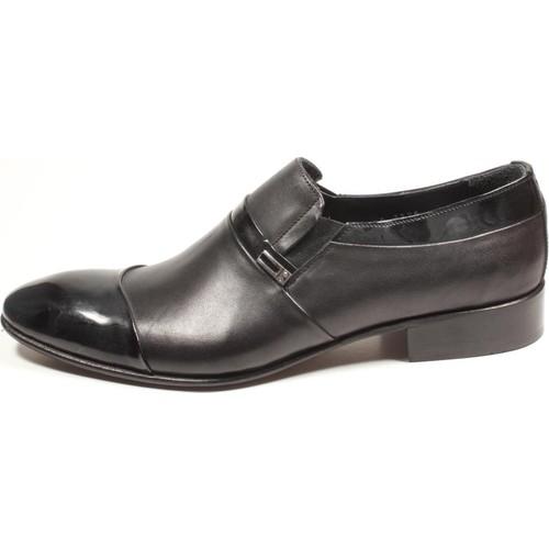 Pablo 214-3325 Siyah Erkek Ayakkabı