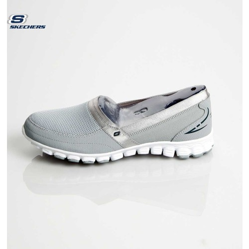 Skechers 22258 Gyw Casual Sneakers Ez Flex Take-İt-Easy Gray Whit