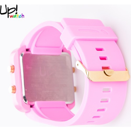 Up Watch Saat Led Gold Edition Pink