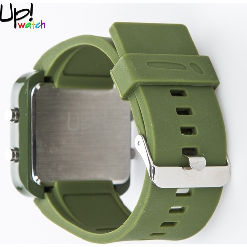 Up Watch Saat Led Dark Green