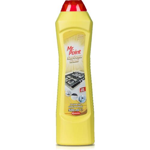 Mr. Point Sıvı Ovma Kremi Limonlu 750 ml