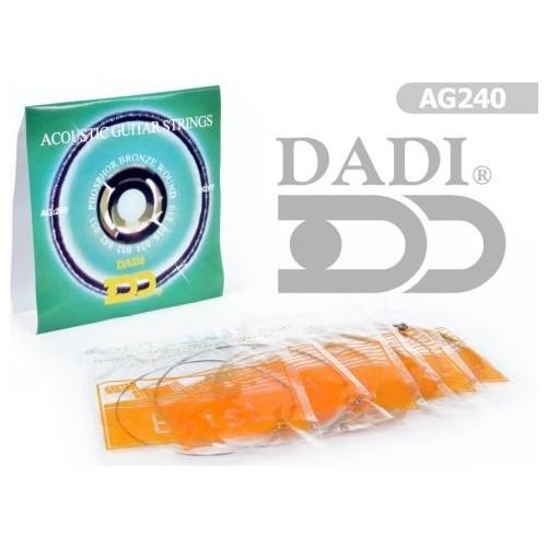 Gitar aksesuar Akustik Teli Dadi AG240