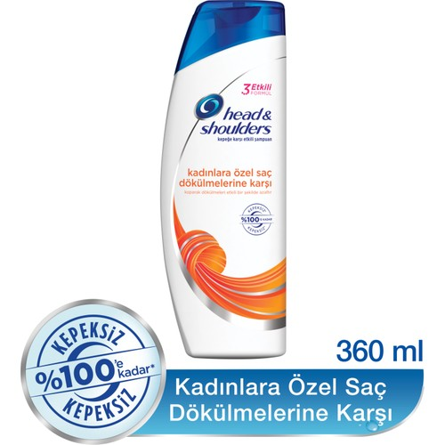 Head & Shoulders Şampuan Kadınlara Özel Saç Dökülmelerine Karşı 360 ml