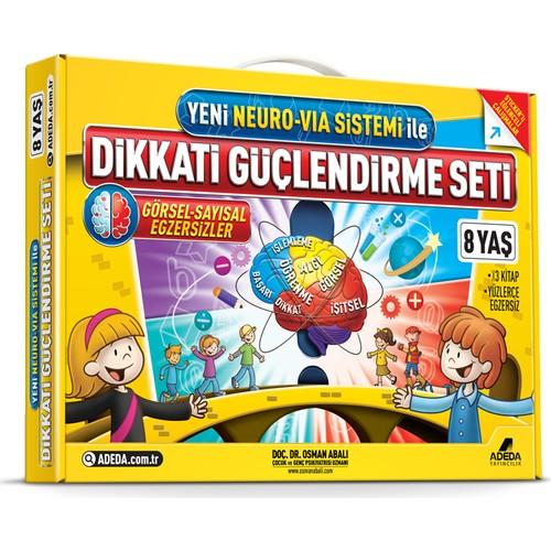 Dikkati Güçlendirme Seti 2. Sınıf - 8 yaş - Osman Abalı