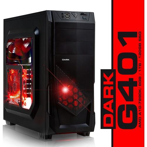 Dark Evo G401 AMD A10-7890K 4.1GHz 8GB 1TB + 120GB SSD Masaüstü Bilgisayar (DK-PC-G401)