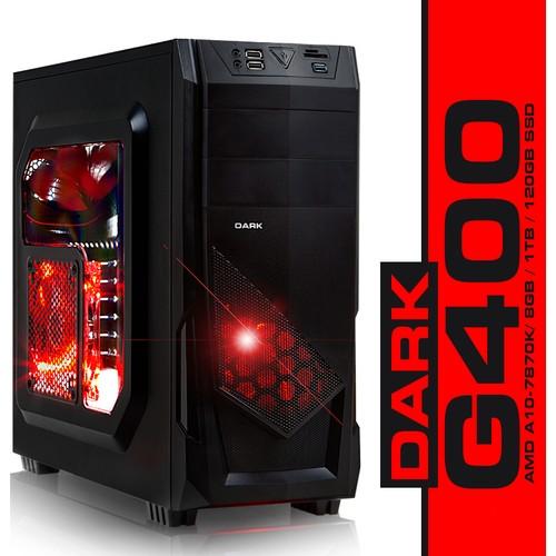 Dark Evo G400 Amd Godavari A10-7870K 3.9GHz 8GB 1TB + 120GB SSD Masaüstü Bilgisayar DK-PC-G400