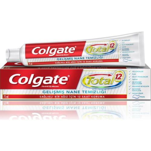 Colgate Diş Macunu Total Gelişmiş Nane Temizliği 75 ml