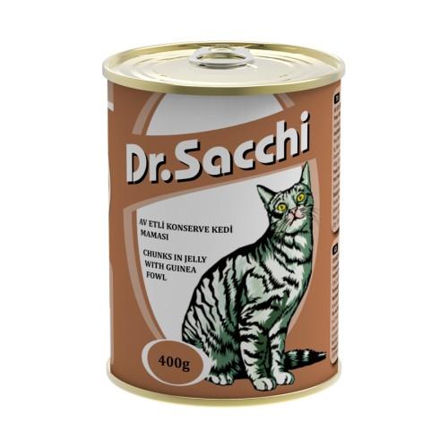 Dr.Sacchi Kedi Konserve Av Etli 400 Gr