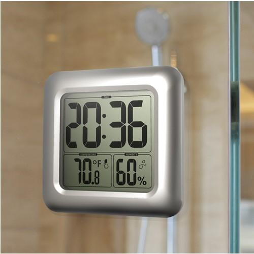 Baldr Büyük Ekran Dev Boy Banyo Termometre Ve Duvar Saati Thr197